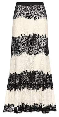 RED Valentino Lace skirt