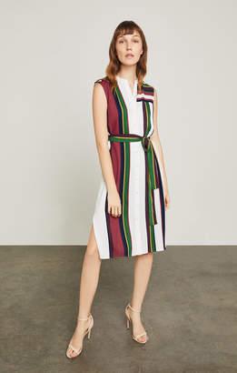 BCBGMAXAZRIA Madalyn Striped Dress