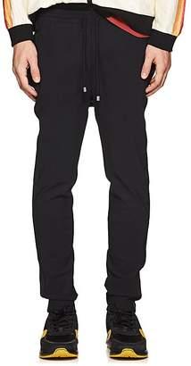 Filling Pieces Men's Ponte-Knit Ankle-Zip Jogger Pants