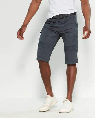 ProjekRaw Projek Raw Stretch Twill Cargo Shorts