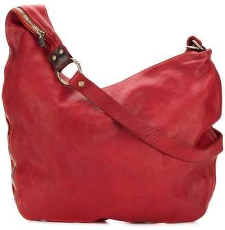 Guidi large zipped crossbody bag