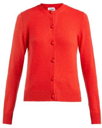 Barrie Arran Pop Cashmere Cardigan - Womens - Red