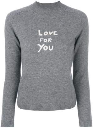Bella Freud intarsia-knit jumper