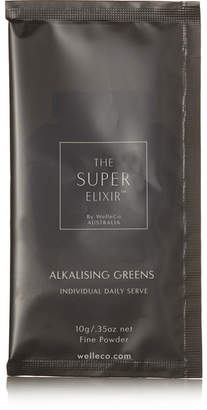 WelleCo - Alkalizing Greens Travel Set, 7 X 10g - Colorless
