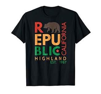 Highland T-Shirt - Republic of California
