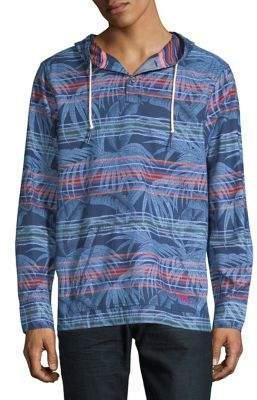 Tommy Bahama Pendleton Island Serape Striped Flannel Pullover