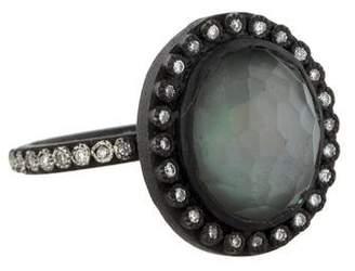 Armenta New World Midnight Diamond Ring