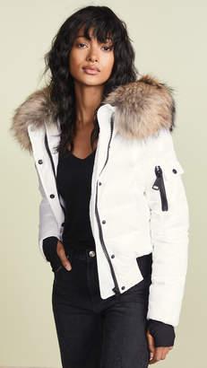 SAM. Skyler Short Down Jacket with Fur