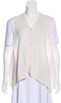 eskandar Linen Knit Vest