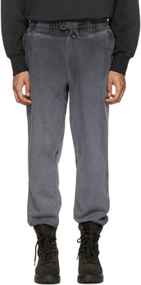 YEEZY Black Panelled Sweatpants $225 thestylecure.com