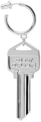 Ambush Silver Single Key Charm Earring