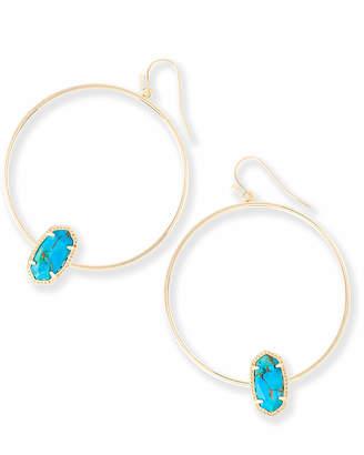 5325401919bb5 Kendra Scott Turquoise Earrings - ShopStyle