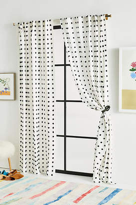 Anthropologie Tufted Makers Curtain
