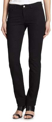 Lafayette 148 New York Women's Reptile-Print Skinny Jeans