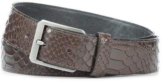 Donald J Pliner FRANK, Grain Leather Belt