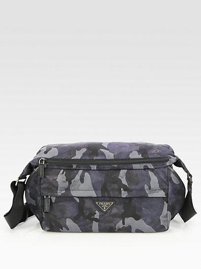 Prada Small Nylon Shoulder Bag