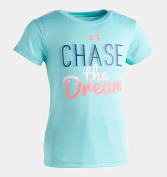 Under Armour Girls' Pre-School UA Chase The Dream T-Shirt