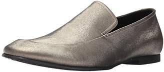 Calvin Klein Men's Nicco Emboss Leather Slip-on Loafer