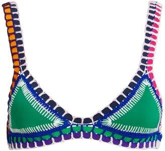 Kiini Clo Emerald Bikini Top
