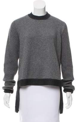 Givenchy Wool-Blend High-Low Sweater