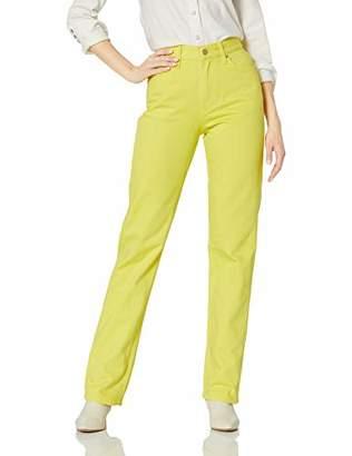 Calvin Klein Women's CKJ 031 Mid Rise Straight Fit Jean