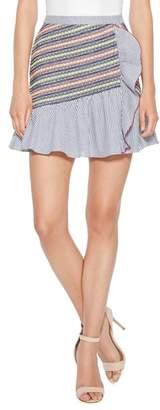 Parker Jordan Stripe Miniskirt