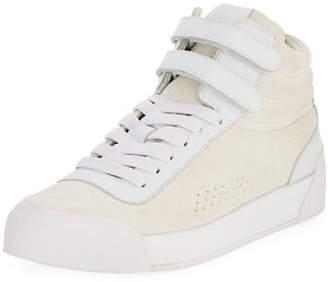 Rag & Bone Nova Mixed Leather Platform Sneakers