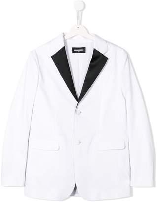 DSQUARED2 TEEN tailored blazer