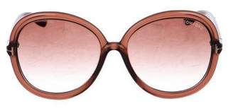 Tom Ford Candice Gradient Sunglasses