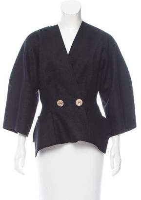 Maison Rabih Kayrouz Fitted Wool Jacket w/ Tags