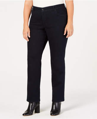 Style&Co. Style & Co Plus & Petite Plus Size High-Waist Straight Jeans, Created for Macy's