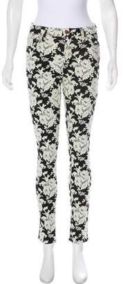 7 For All Mankind Mid-Rise Skinny Pants
