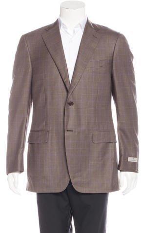 CanaliCanali Wool & Silk Glen Plaid Sport Coat w/ Tags