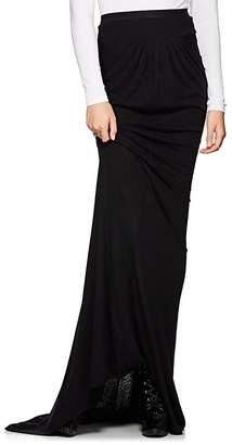 Rick Owens Women's Draped Jersey Maxi Skirt