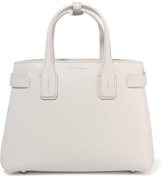 Burberry Textured-leather Tote - White