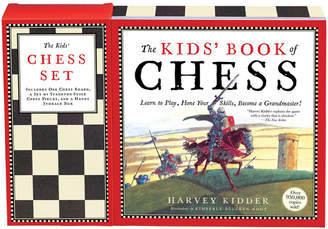 Kimberly Workman Publishing The Kids' Book Of Chess And Chess Set By Harvey Kidder & Bulckin Root