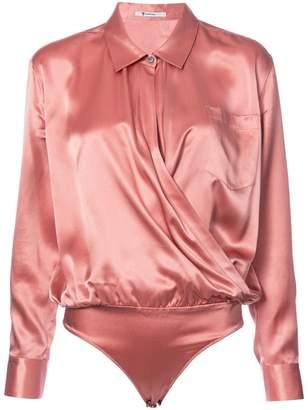 Alexander Wang V-neck silk blouse