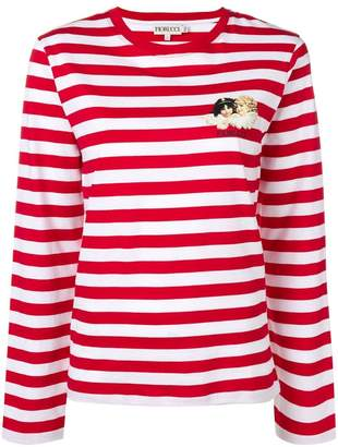 Fiorucci striped long sleeved top