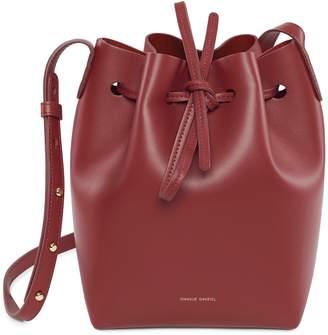 Mansur Gavriel Calf Mini Bucket Bag - Rococo