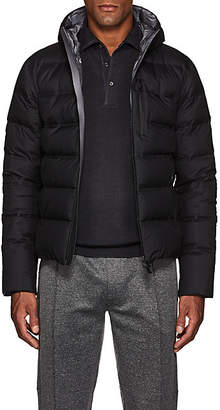 Herno Men's Down-Quilted Hooded Puffer Jacket - Black