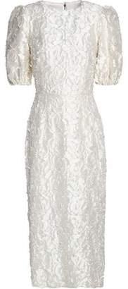 Dolce & Gabbana Embroidered Twill Dress