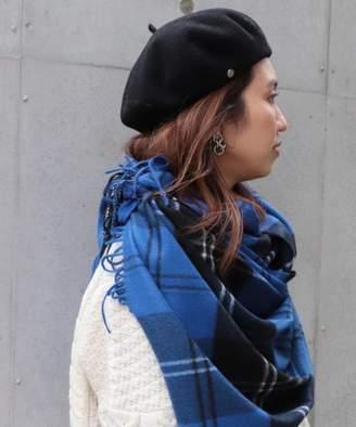 FRAMe WORK (フレーム ワーク) - FRAMeWORK LAULHERE カシミアベレー帽◆
