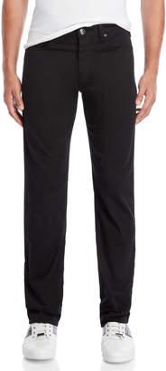 Armani Jeans Black Five-Pocket Pants