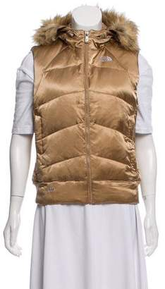 The North Face Hooded Puffer Vest