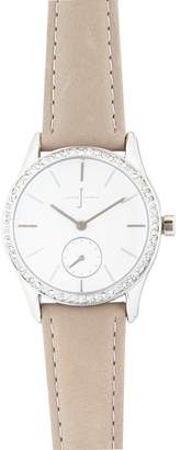 J by Jasper Conran Ladies Silver Analogue Watch