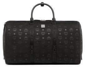 MCM Dieter Monogrammed Weekender Bag