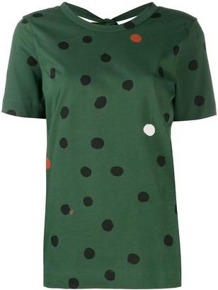 Parker Chinti & polka dot t-shirt