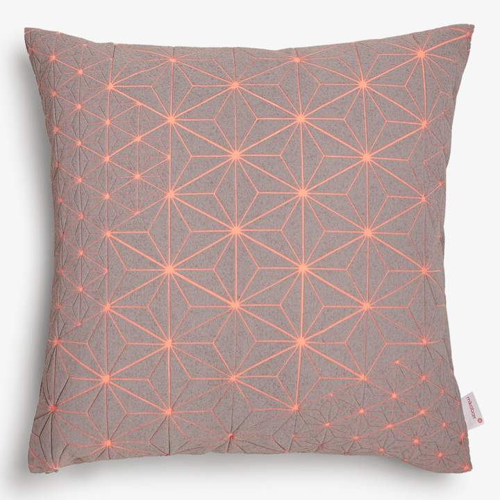 Mikabarr Mikabarr Gray Geometric Pillow