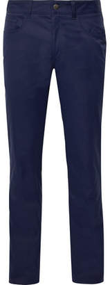 Dunhill Links Slim-Fit Twill Golf Trousers