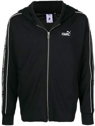 Puma Karl Lagerfeld x zipped hoodie